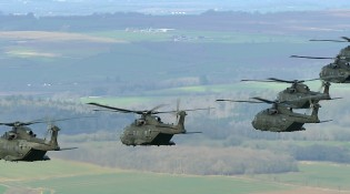 Arrival of Army Air Squadron
